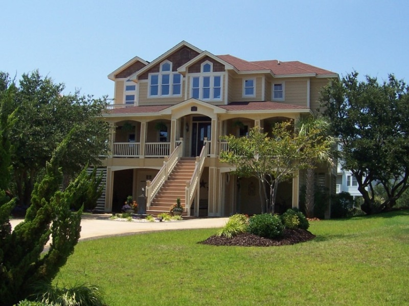 Kitty Hawk North Carolina modern vacation rental