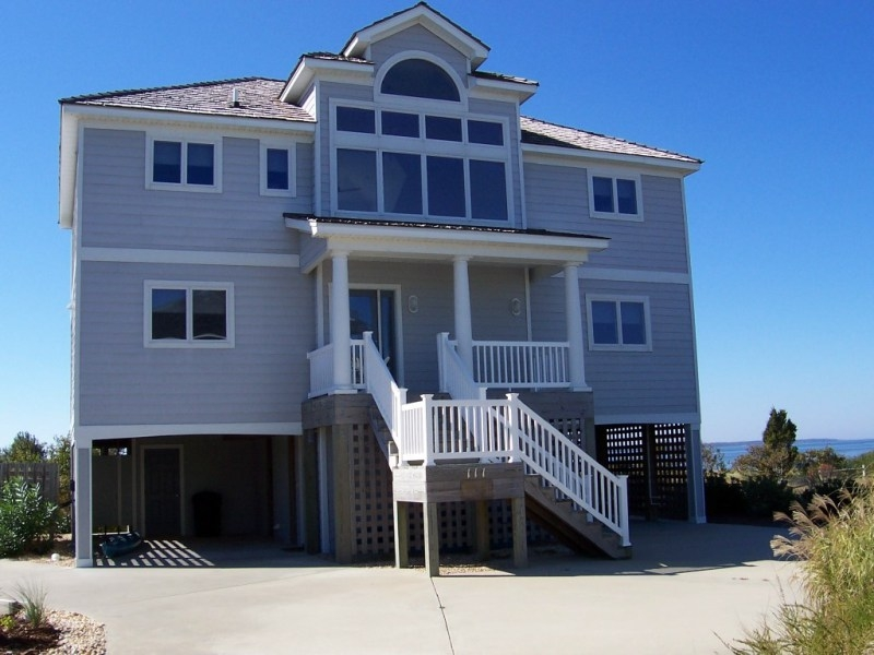 Nags Head NC waterfront residential home