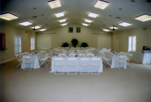 Duck United Methodist Church fellowship hall