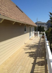 Outer Banks beach box renovation deck construction