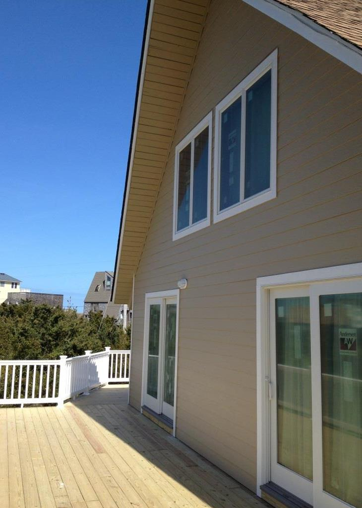 Outer Banks beach box renovation