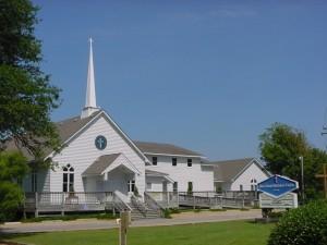 Duck United Methodist Church in North Carolina