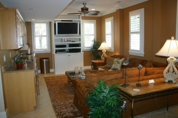 Custom interior design den