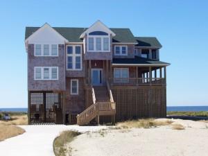 Custom home built on Hatteras Island NC